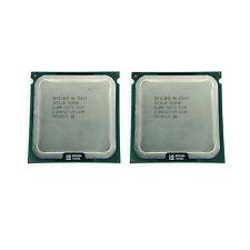 Intel Xeon E5472 3 GHz 12MB 1600MHz Quad-Core SLANR CPU 2 pcs Matched pair