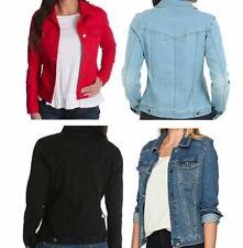 Riders by LEE Indigo Women's Stretch Denim Jacket - Inside Pockets