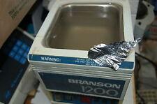 Branson Ultrasonic Cleaner waterbath water bath 1200 120V sonic digital vbnm