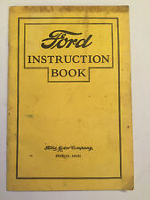FORD ROADSTER TOURING COUPE FORDOR TUDOR INSTRUCTION BOOK OWNERS MANUAL HANDBOOK