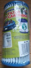 Aqua Leisure Wasserpumpen-Filter filter cartridge Größe 3 SA-3781 Doppelpack