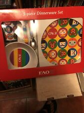 FAO 5 Piece Dinnerware Set  New in Box