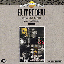 Huit et demi-CD-directed by Federico Fellini/Music by NINO ROTA