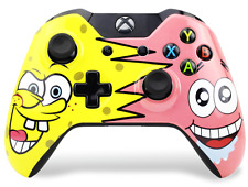 """SPONGEBOB"" Xbox One Custom UN-MODDED Controller Exclusive Design"