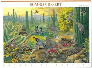 US SCOTT 3293 PANE OF 10 SONORAN DESERT 33 CENT FACE MNH 1ST IN SERIES