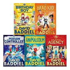 David Baddiel Collection 5 Books Set Person Controller Birthday Boy Head Kid