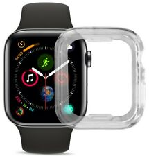 Clear Transparent Flexible TPU Skin Case Cover for Apple Watch (SERIES 4, 40mm)