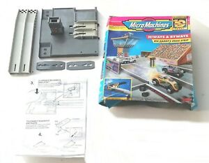 Vintage 1996 Galoob - Micro Machines - Hiways and Byways ~ DRAG STRIP ~ Boxed