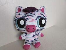 """Littlest Pet Shop Lovely ZEBRA 7"""" Plush Stuffed Animal"""