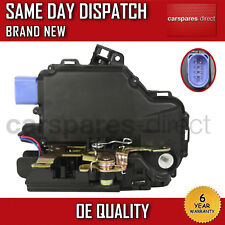 VW POLO 9N FRONT LEFT CENTRAL DOOR LOCK 03>13 8 PIN