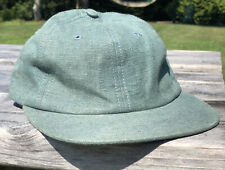 NORSE PROJECTS 5 PANEL Green Twill SUPREME HAT - BRAND NEW!