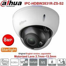 Dahua 4K 8MP Starlight 2.7-13.5mm Lens Zoom IP Camera PoE  IPC-HDBW2831R-ZS-S2