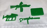 GI Joe CARCASS Guns Weapons Lot & Stand 1994 Original Figure Accessory