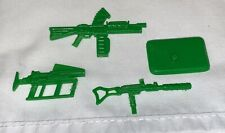 GI Joe CARCASS Guns Weapons Lot & Stand 1994 Original Figure Accessory