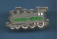 Pin's pin TRAIN LOCOMOTIVE VAPEUR MARIE CLAIRE (ref 047)