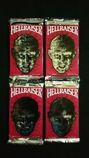 1992 Eclipse Hellraiser Trading Card 4 Pack Lot