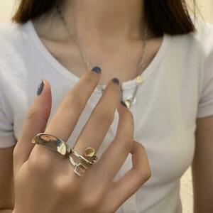 Silver Plate Wedding Accessories Open Rings Multilayer Rings Fashion Jewelry