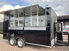 New Listing8x14 New Concession Food Trailer Custom Trailers Manufacturer 7x10 7x12 8x16