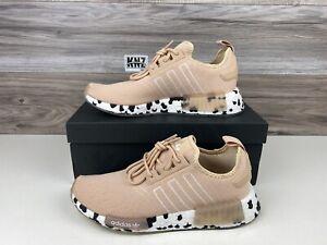 **Women's Adidas NMD_R1 Halo Blush Cloud White Black | size 7 | GZ7996 NWB