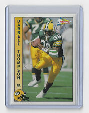 1992 PACKERS Darrell Thompson signed card Pacific #108 Autographed Green Bay