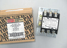 OEM Carrier Contactor HN53HF115 60 Amp 3 Pole 115 Volt Coil NC, NO Aux Contacts