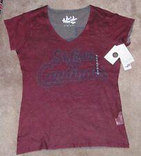 New Mlb St Louis Cardinals Baseball T Shirt Women Ladies M Medium New Nwt