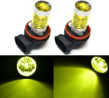 LED 50W H8 Yellow 3000K Two Bulbs Fog Light Replacement Plug Play Lamp JDM OE