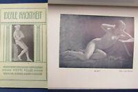 Ideale Nacktheit Naturaufnahmen Menschlicher Körperschönheit 1923 4.Bd. js