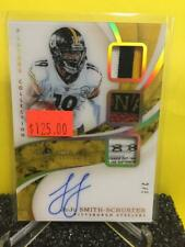 JuJu Smith-Schuster 2019 Immaculate Collection Auto Triple Jersey 2/5 Steelers