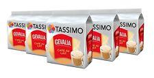 5 x Packs Tassimo Gevalia Cafe Con Leche Café Au Lait T Discs Pods - 80 Drinks