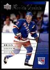 2002-03 Upper Deck Rookie Update Brian Leetch #68