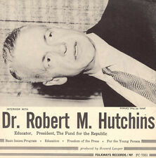 Robert M. Hutchings - An Interview with Dr. Robert M. Hutchins [New CD]