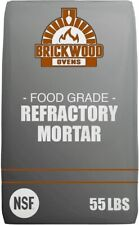 Fireplace Mortar • Refractory Mortar • Pizza Oven Firebrick Mortar • 55lb Bag