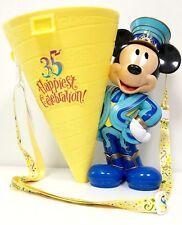 Used Tokyo Disneyland 35th Anniversary Popcorn Bucket F/S Japan