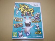 RAVING RABBIDS Party collection ** NOUVEAU & Sealed ** Wii