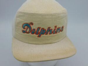 Vintage Miami Dolphins New Era Pro 5 Panel Dupont Visor Snapback Style Hat