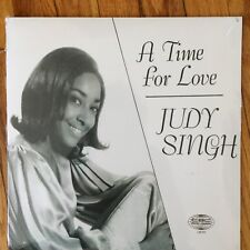 BRAND NEW 2018 REMASTERED LP:A TIME FOR LOVE-JUDY SINGH  AND TEST PRESSING