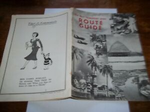 ROYAL AIR FORCE FAR EAST TRANSPORT WING ROUTE GUIDE CIRCA MID 1950S.