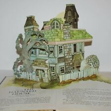 A Visit To THE HAUNTED HOUSE Vintage '87 Troll Pop-Up Book Hallmark Cards Ghosts