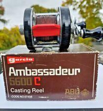 Vintage 1976 Abu Ambassadeur 5600C 1st run. w rare brown box.