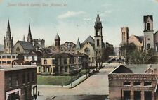"*Iowa Postcard-The Seven Church Spires"" -Des Mines- Pm 1910/ (U1-349)"