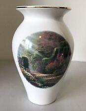 Thomas Kinkade Garden Of Grace 2004 Vase Excellent Condition
