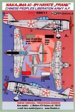 "KORA Decals 1/48 NAKAJIMA Ki-84 HAYATE ""FRANK"" Chinese People's Liberation Army"
