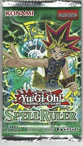 Spell Ruler Booster Pack - YuGiOh - Brand New & Fully Sealed - Mint Condition!