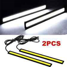 2X Waterproof Super Bright White Car COB LED Lights DRL Fog Driving Lamp DC 12V