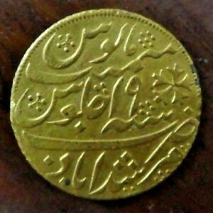 Bengal Presidency Gold Mohur 1202 Regnal Year 19 Gold Coin