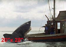 "Jaws~Spielberg~Shark Attack~Fisherman~Bait Shop~Poster~Photo~ 20""x 28"""