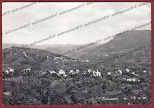GENOVA TRIBOGNA 01 Frazione CASSANESI Cartolina FOTOGRAFICA viaggiata 1958