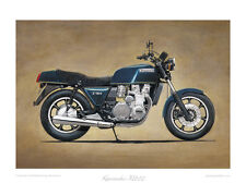 """Kawasaki Z1300 (1978) - Limited Edition Collectors Print (of 50 only) 20""""x16"""""""