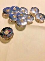 10 Metal Bernina Sewing Machine Bobbins 330.026.030 Models 217, 840, 850, 950
